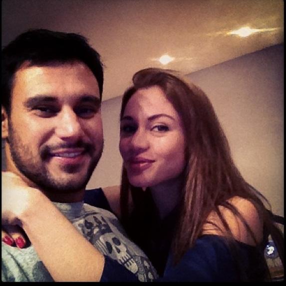 Maria com Allan Zanatta